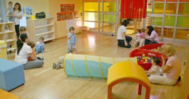 impresa di pulizie per asili